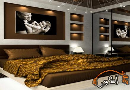 مدل تزئین اتاق خواب18