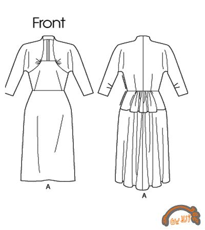 مدل  دامن و پیراهن زنانه 2015-65