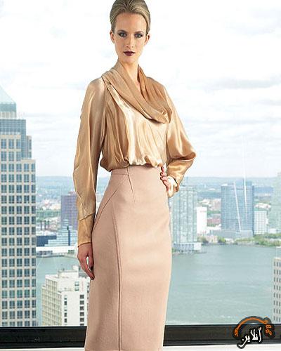 مدل لباس بلوز و دامن زنانه 10