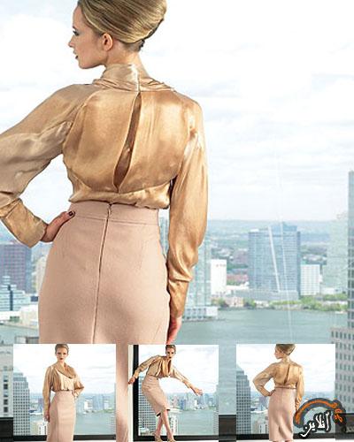 مدل لباس بلوز و دامن زنانه 11