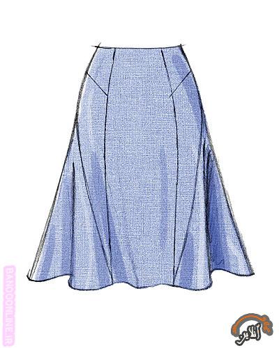 مدل لباس بلوز و دامن زنانه 5