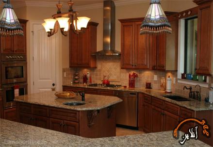 مدل آشپزخانه  مدرن منزل  2015-124