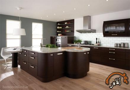 مدل آشپزخانه  مدرن منزل  2015-127