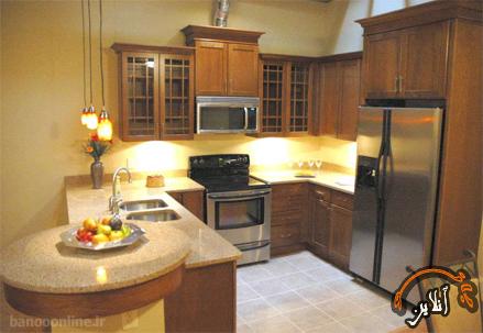 مدل آشپزخانه  مدرن منزل  2015-128