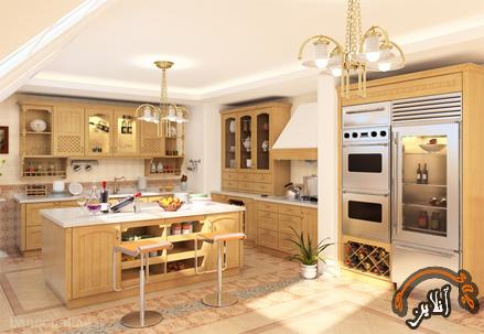 مدل آشپزخانه  مدرن منزل  2015-143
