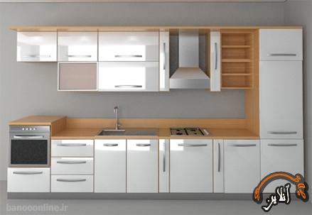 مدل آشپزخانه  مدرن منزل  2015-146