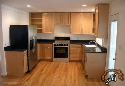 مدل آشپزخانه  مدرن منزل  2015-149