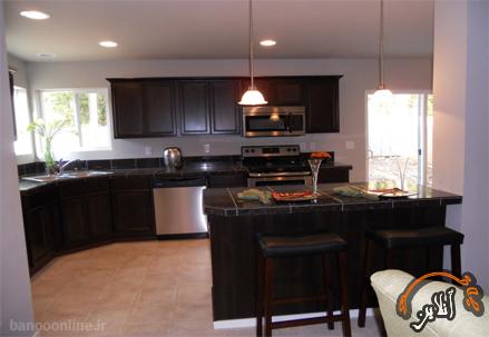 مدل آشپزخانه  مدرن منزل  2015-151