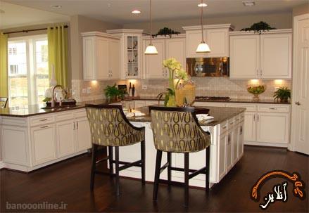 مدل آشپزخانه  مدرن منزل  2015-152