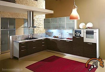 مدل آشپزخانه  مدرن منزل  2015-159