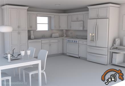 مدل آشپزخانه  مدرن منزل  2015-163