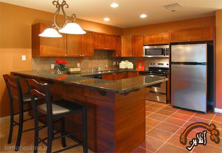 مدل آشپزخانه  مدرن منزل  2015-167