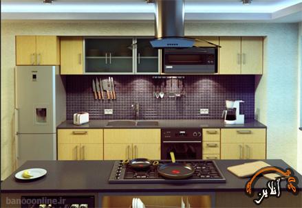 مدل آشپزخانه  مدرن منزل  2015-172