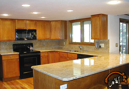 مدل آشپزخانه  مدرن منزل  2015-174