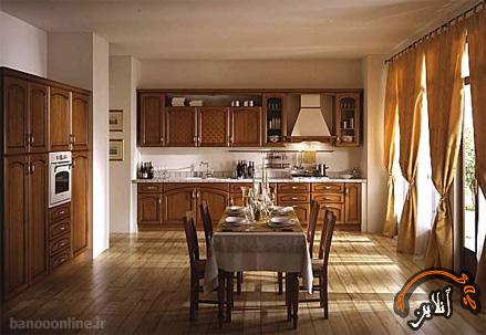 مدل آشپزخانه  مدرن منزل  2015-175