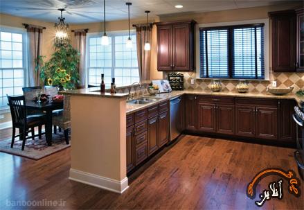 مدل آشپزخانه  مدرن منزل  2015-176