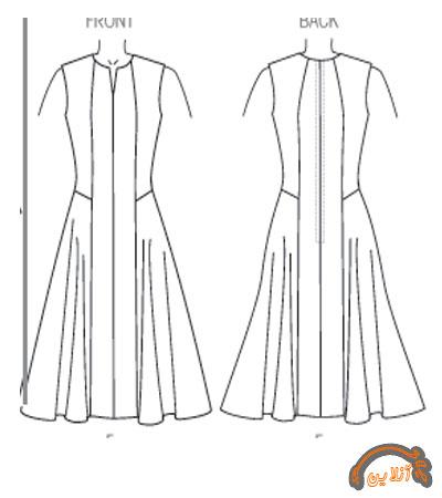 مدل ایده دوخت لباس راحتی  آستین دار و بدون آستین  2015-100