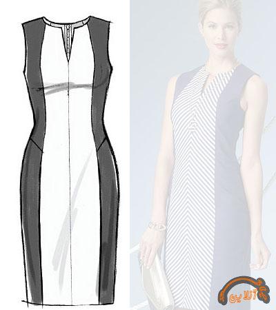 مدل ایده دوخت لباس راحتی آستین دار و بدون آستین 2015-91