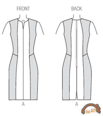 مدل ایده دوخت لباس راحتی  آستین دار و بدون آستین  2015-92