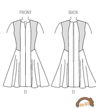 مدل ایده دوخت لباس راحتی آستین دار و بدون آستین 2015-95