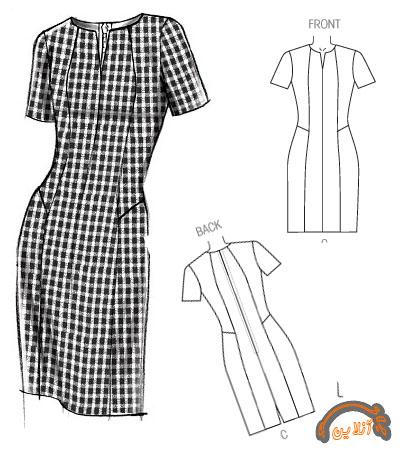 مدل ایده دوخت لباس راحتی  آستین دار و بدون آستین  2015-96