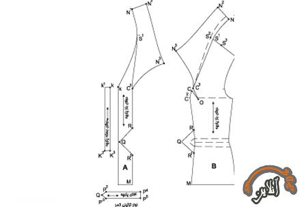 آموزش دوخت کت و دامن  2015-244