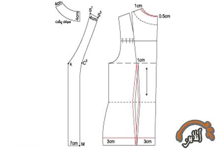 آموزش دوخت کت و دامن 2015-245