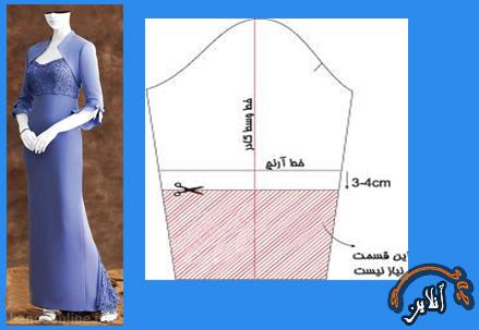 آموزش دوخت کت کوتاه زنانه  2015-268