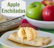 روش  تهیه انچیلادای سیب